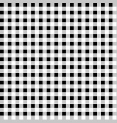 Contrasty pattern with squares seamlessly vector