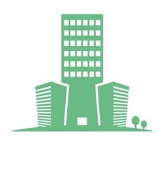 eco buildings 05 01 vector image