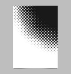 halftone circle pattern background poster vector image