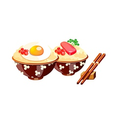 Icon japanese food vector