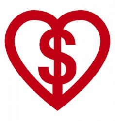love money vector image