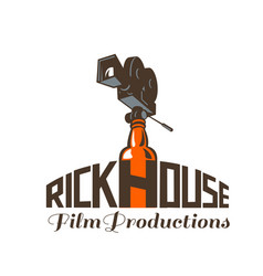 rickhouse film productions retro vector image vector image