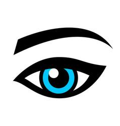 female eye vector image vector image