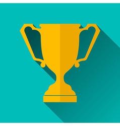 Ancient Trophy Cup Icon vector image