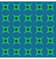 Circle and rhombus seamless pattern vector image vector image