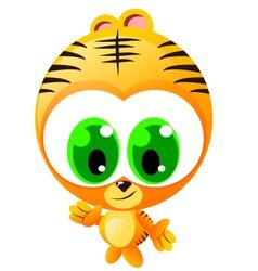 Hello Tiger vector