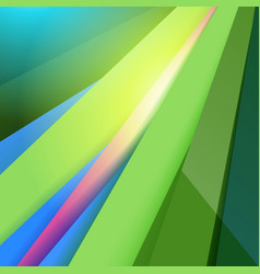 modern material design abstract green background vector image