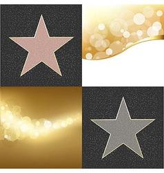 Fame Stars vector image