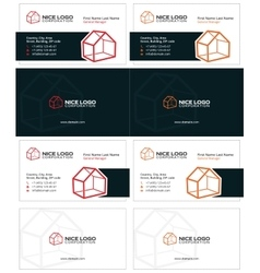 house business card 1 vector image