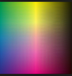 Cmyk halftone background vector