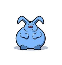 Fat Rabbit Cartoon vector