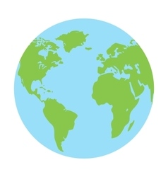 Globe earth icon vector