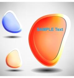Shiny bubbles for speech editable vector