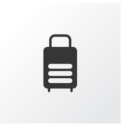 suitcase icon symbol premium quality isolated vector image