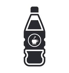 coffee bottle icon vector image