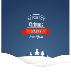 Vintage xmas greeting card and background vector