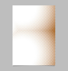 abstract halftone dot pattern background flyer vector image