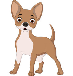 Cartoon happy dog vector