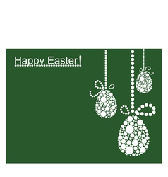 Colored Easter Background vector