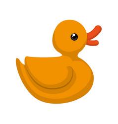 ducky cute cartoon vector image