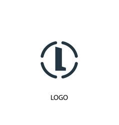 logo icon simple element logo vector image