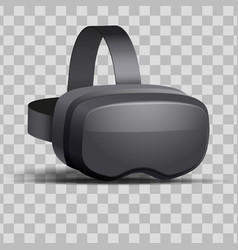 Original 3d vr headset vector