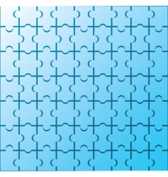 puzzle wallpaper pattern vector image vector image