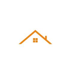 Real estate symbol logo house icon vector