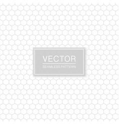 simple seamless hexagonal pattern - geometric vector image