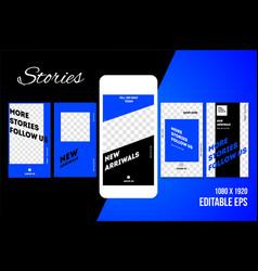 Stories vector