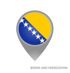 bosnia and herzegovina point vector image