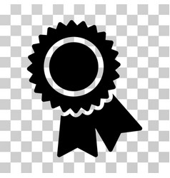 certification icon vector image