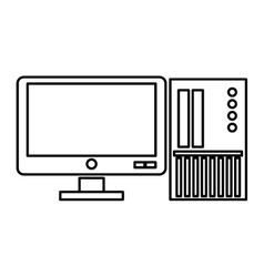 Computer monitor with sd card vector