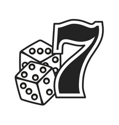 Dices and seven number vector