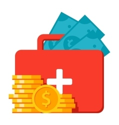 Emergency Fund Icon vector