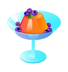 Icon jelly vector