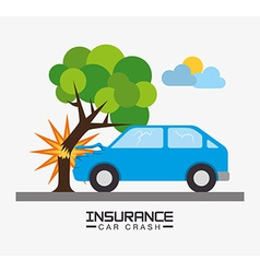Insurance design vector image