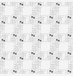line seamless pattern geometric pattern vector image