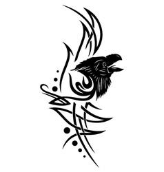 Raven crow vector image