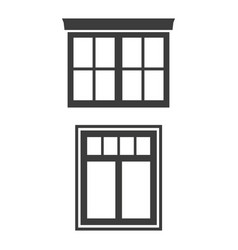 window icon on white background vector image