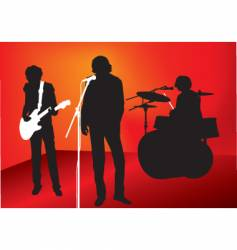rock out vector image vector image