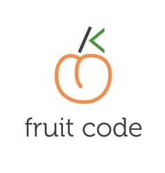 concept fruit code vector image