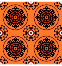 Suzani pattern vector image vector image