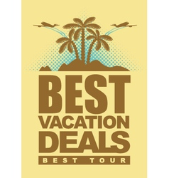 Best deals for holiday vector
