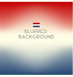 Blurred color netherlands flag background vector