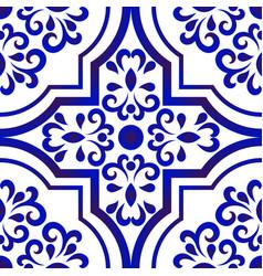 ceramic tile pattern 1 vector image