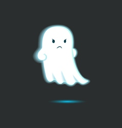Cute Ghost Single 7 vector image