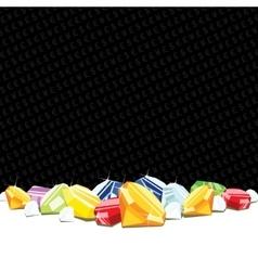 Gemstones and diamonds gambling background vector