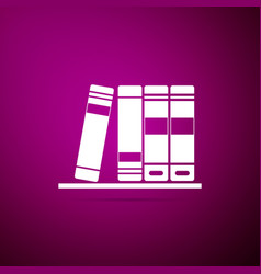 office folders with papers and documents icon vector image
