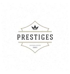 King crown logo template design element vector